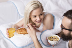Free Breakfast In Bed Stock Photos - 76613703