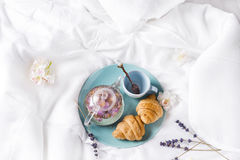 Free Breakfast In Bed Royalty Free Stock Image - 92893826
