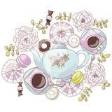 Breakfast In Wonderland Royalty Free Stock Images