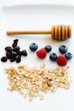 Breakfast ingredients Stock Image