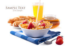 Breakfast isolated Stock Photography