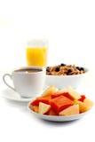 Breakfast isolated royalty free stock photos