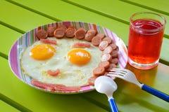 Breakfast for kids Stock Photos