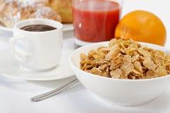 breakfast kontynentalny Obraz Royalty Free