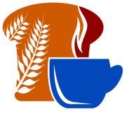 Breakfast logo Stock Photography