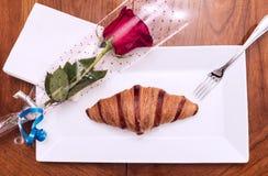 Breakfast with love Stock Photos