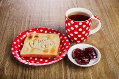 Breakfast for a loved one Royalty Free Stock Photo