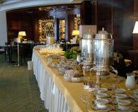 Breakfast in luxury hotel stock photography