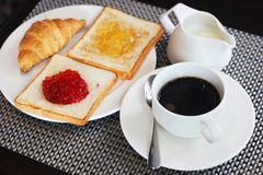 Breakfast meal Stock Photography