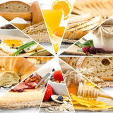 Breakfast Mix Royalty Free Stock Image