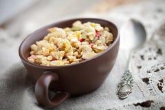 Breakfast muesli Stock Image