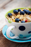 Breakfast muesli Royalty Free Stock Photography
