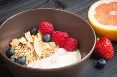 Breakfast muesli Stock Photos