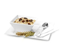 Breakfast Muesli Stock Photo