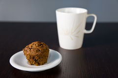Breakfast muffin Stock Photo