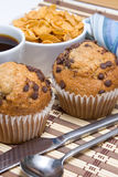 Breakfast muffins Stock Photography