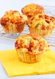 Breakfast muffins Stock Photos