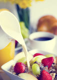 Breakfast Nutrition Diet Food Concept Stock Images