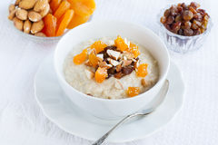 Breakfast oatmeal Royalty Free Stock Images