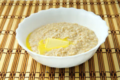 Breakfast oatmeal porridge Stock Photos