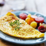 Breakfast omelet Royalty Free Stock Photo