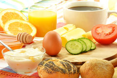 Free Breakfast On The Table Royalty Free Stock Photos - 23329318