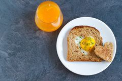 Free Breakfast On Valentine`s Day. Royalty Free Stock Images - 108940129