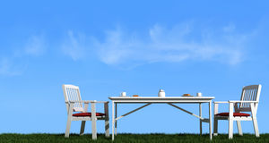 Breakfast outdoor Stock Photography