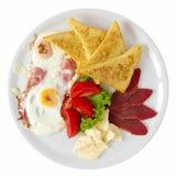 Breakfast Overhead Royalty Free Stock Image