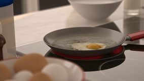 Breakfast with pan Stock Photography