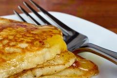 Breakfast Pancakes Royalty Free Stock Photos