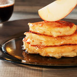 Breakfast of pancakes Royalty Free Stock Photo