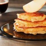 Breakfast of pancakes Royalty Free Stock Photo