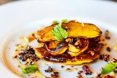 Breakfast pancakes Stock Photos