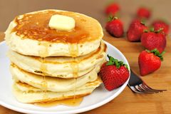 Breakfast pancakes Royalty Free Stock Image
