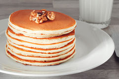 Breakfast of pancakes Stock Photography