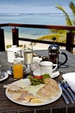 Breakfast in paradise Stock Photos
