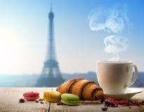 Breakfast in Paris Stock Image