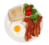 Breakfast plate Stock Photo