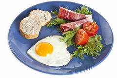 Breakfast plate Royalty Free Stock Photo