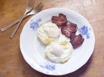 Breakfast plate Stock Image