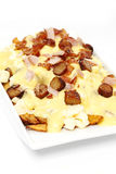 Breakfast poutine Stock Photo