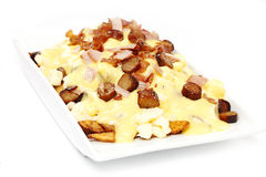 Breakfast poutine Stock Image