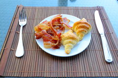 Breakfast prepare to eat Royalty Free Stock Photo