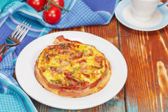 Breakfast Quiche Royalty Free Stock Image