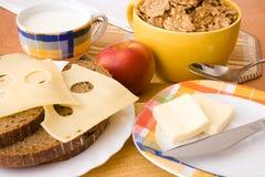 Breakfast raw Royalty Free Stock Image