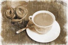 Breakfast (retro Style) Stock Image