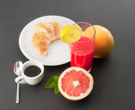 Breakfast. The right way to wake up Royalty Free Stock Image