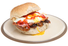 Breakfast Roll Royalty Free Stock Photo