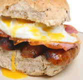 Breakfast Roll Royalty Free Stock Image